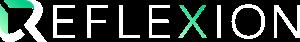 reflexion logo (white variation)